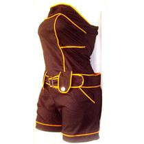 Hot Pants Short Top Jumper Straples Y Tallas Extras