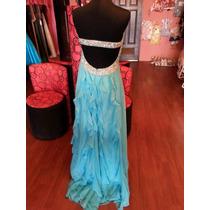 Vestido Fiesta Noche Alta Costura Jovani Talla 8 $490 Dlls