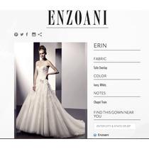 Vestido De Novia Enzoani Modelo Erin Color Ivory