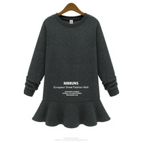 Suku 90284 Vestido Corto Con Faldon Moda Japón $689