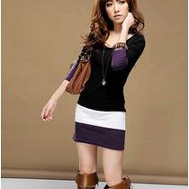 Blusón Vestido Corto Moda Japonesa Coreana Asiática 5169