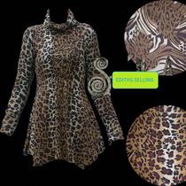 Vestidos Animal Print, Diferentes Colores, Importados.