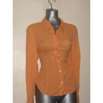 Blusa Orange 100% Seda T-6