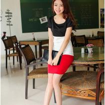 Vestido Corto Casual Moda Elegante Estilo Japones 916