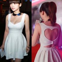 Vestidos Con Espalda De Corazón Moda Japonesa Vbf