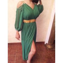 Vestido Fiesta Verde