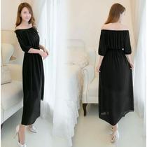 Vestido De Fiesta Largo Moda Coreana Asiática Elegante 2178