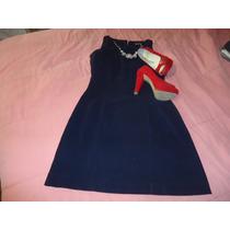 Vestido Azul Marino Incluye Saco