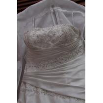 Vestido De Novia Essence Talla 9-7 Excelentes Condiciones