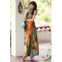 Vestido Moda Asiática