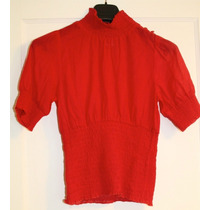 Blusa Roja Marca Guess Talla Chica