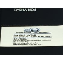 Batería Recargable Para Camaras 8mm O Vhs-c Phs O Jvc-c