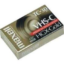 Cassette Maxell Vhs-c. Nuevo! ¡ Solo 100.00 Pesos Pieza