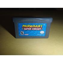 Mario Kart Super Circuit Game Boy Advance Funciona Al 100%