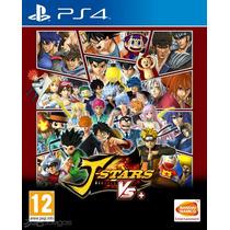 J-stars Victory Vs Ps4 Play Station Sellado Goku Seiya Arale