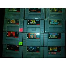 Super Nintendo Variedad En Titulos Parte 2 C/u