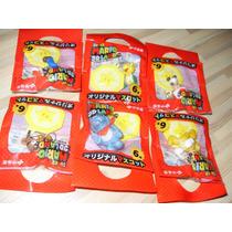 6 Figuras Super Mario 3d Land Nintendo Nes 3ds Toad Goomba