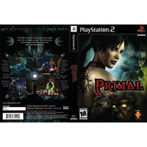 Primal Playstation 2 Ps2 Excelente Estado