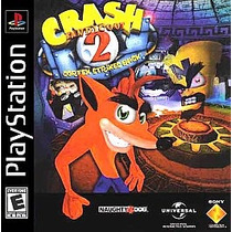 Crash Bandicoot 2 Cortex Strikes Back Ps1 Compatible Con Ps2
