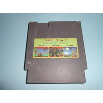Nintendo Nes 3 En 1 Wild Gunman Duck Hunt Super Mario
