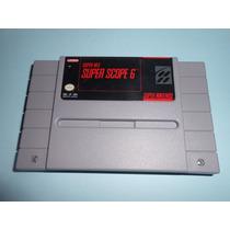 Snes Super Scope 6 Super Nintendo Impecable De Coleccion