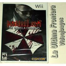 Resident Evil The Umbrella Chronicles Wii Nuevo Sellado Mn4