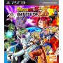 * Dragon Ball Z Battle Of Z Playstation 3 Nuevo