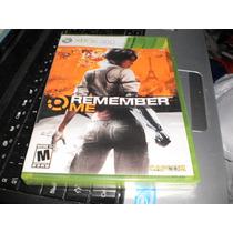 Remember Me Xbox 360 Nuevo Y Sellado
