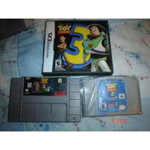 Toy Story Trilogia Super Nintendo,nintendo 64 Y Nintendo Ds