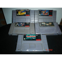 Super Nintendo Batman,star Wars,libro De La Selva,lamborghin