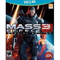 Mass Effect 3 Para Nintendo Wii U Nuevo Y Sellado Vv4 Hm4