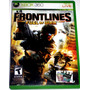 Videojuego Frontlines: Fuel Of War Para Xbox 360!! Pm0