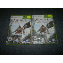 Assassins Creed Iv Black Flag Nuevo Y Sellado Para Xbox 360