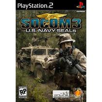 Socom 3 U.s. Navy Seals Ps2--mannygames
