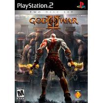 God Of War 2 Ps2--mannygames