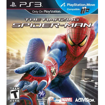 Ps3 Move The Amazing Spider Man (acepto Mercado Pago Y Oxxo)