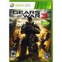 Gears Of War 3 En Español Xbox 360 Nuevo