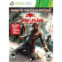 Dead Island Game Of The Year Xbox 360 Nuevo