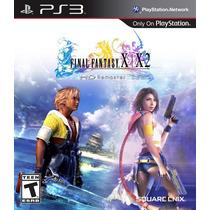 Final Fantasy X X-2 Hd Ps3 - En Español Incluye 2 Juegos!