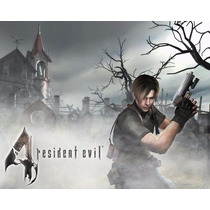 Pack Resident Evil 4 + 5 + 6 Cd-key Steam Digital Oferta!!!