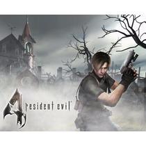 Pack Resident Evil 4 + 5 + 6 Cd-key Steam Digital Oferta!!!