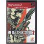 Metal Gear Solid 2 Sons Of Liberty Ps2 En Ingles