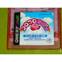 Kirby Tiltn Tomble - Juego Japones Rarisimo En Mano.