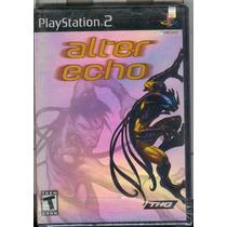 Ps2 Alter Echo Nuevo Envio Gratis