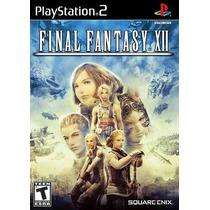 Final Fantasy Xii -- Ps2 -- Mannygames