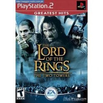 Ps2 The Lord Of The Rings The Two Towers De Uso