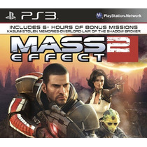 Mass Effect 2 Ps3 + Overlord+shadow Broker+cerberus+kasumi