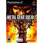 Metal Gear Solid 3 Snake Eater Ps2 En Idioma Ingles.