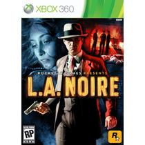 L.a Noirexbox 360 Como Nuevo Solo En Gamekiosko