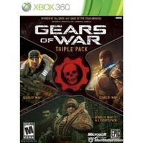 Gears Of War Triple Pack Xbox 360 Nuevo Blakhelmet E